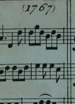 Thompson's 1767